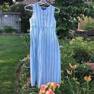 Lands End girls cotton sundress ☀️